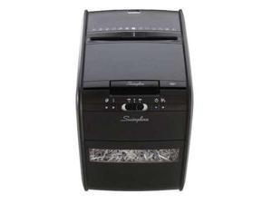 Swingline 1757574 Stack-and-Shred 80X Hands Free Shredder, Cross-Cut, 80 Sheets, 1-2 Users