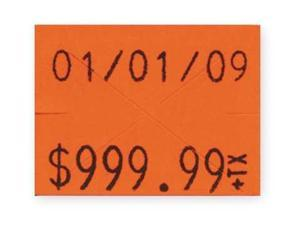 GARVEY 90951 Pricing Label Kit, 2-Line, Red, PK3