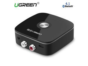 Ugreen 4.1 Wireless Bluetooth Receiver Speaker Headphone Adapter 3.5MM Audio Stereo Music Receiver Bluetooth Audio Adapter