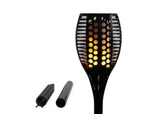 96 LED Solar Garden Flame Torch Light Flicker Candle Solar Powered IP65 Waterproof Decorative Lamp