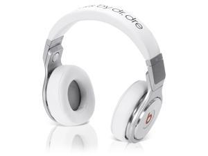 Beats by Dr. Dre PROWIREDBL PRO WIRED OVER EAR HEADPHONE White/Silver