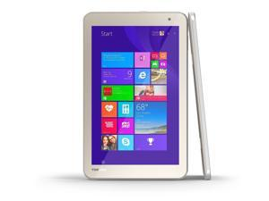"Toshiba Encore 2 Tablet 8"", 64GB, Intel Atom Z3735F, Satin Gold -"