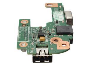 AC DC Power Jack Port VGA USB IO Board PFYC8 For DELL INSPIRON 15R M5110 N5110