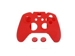 Red Silicone Rubber Skin Case Cover Super Grip for XBOX ONE Game Controller
