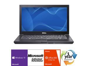 "Dell Latitude E6410 Intel i5 Dual Core 2600 MHz 160Gig Serial ATA 2048mb DVD-RW 14.0"" WideScreen LCD Windows 10 Home 32 Bit Laptop Notebook"