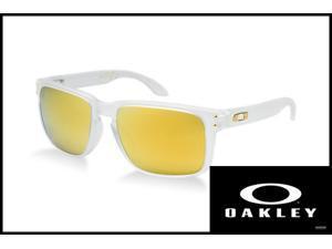 Oakley OO9102-18 Sunglasses Holbrook Shaun White Polished White/24K