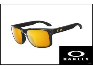 Oakley OO9102-08 Sunglasses Holbrook Polished Black/24K Iridium