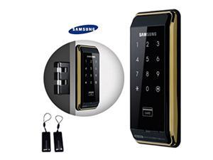SAMSUNG SHS-D500 digital door lock keyless touchpad security EZON + 2pcs of Key Tags