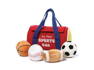 My First Sports Bag 8 Inch - Baby Stuffed Animal by GUND (4048449)