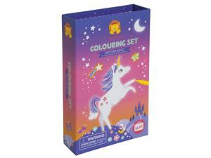 Unicorn Coloring Set - Craft Kit by Schylling (60237)