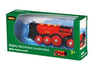 Mighty Red Action Loco - Train Toy by Brio (33592)