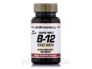 Vitamin B-12 1000 mcg Sublingual - 100 Tablets by Windmill