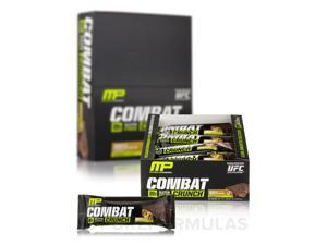 Combat Crunch Bars - Chocolate Peanut Butter Cup Flavor - Box of 12 Bars (2.22 o