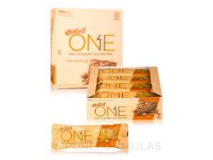 Oh Yeah! One Bar Peanut Butter Pie Flavor - Box of 12 Bars (2.12 oz / 60 Grams e