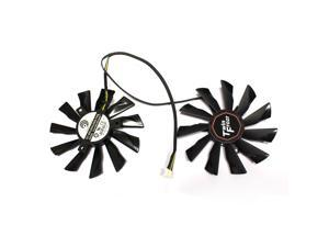 Generic Video Card Fan For MSI R9-290X 280X 270X R7-260X GTX 760 770 Seires Laptop New Notebook Replacement Accessories P/N:PLD10010S12HH DC12V 0.40A