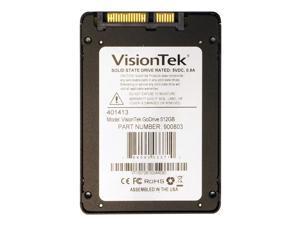 "VisionTek 2.5"" 512GB SATA III MLC Internal Solid State Drive (SSD) 900803"