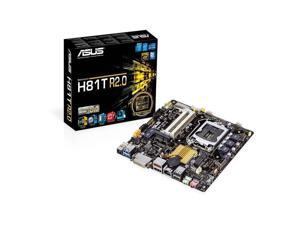 ASUS H81T R2.0/CSM LGA 1150 Intel H81 HDMI SATA 6Gb/s USB 3.0 Thin Mini-ITX Motherboards - Intel