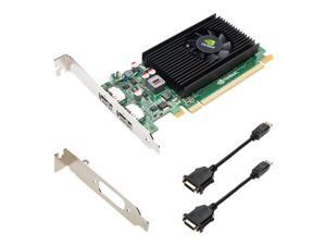 PNY NVIDIA Quadro NVS 310 1GB DDR3 2DisplayPort Low Profile PCI-Express Video Card, VCNVS310DVI-1GB-PB