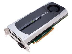 NVIDIA Quadro 6000 VCQ6000-PB 6GB 384-bit GDDR5 PCI Express 2.0 x16 Workstation Video Card