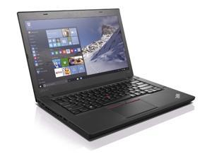 "Lenovo Thinkpad T440 14"" Wide Laptop - 4th Gen Intel Core i5 1.90GHz (turbo up to 2.9GHz,) 8GB RAM, 500GB HDD, Windows 10 Professional 64 Bit - Grade B"