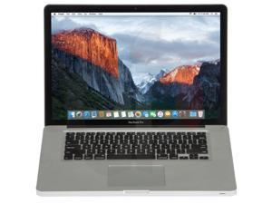 "Apple Laptop MacBook Pro 15.4"" LED-backlit - Intel Core i5 520M 2.40 GHz (turbo up to 2.93GHz), 4 GB DDR3 Memory, 500 GB HDD, NVIDIA GeForce GT 330M, Mac OS X v10.12 Sierra - A1286 MC371LL/A - Grade B"