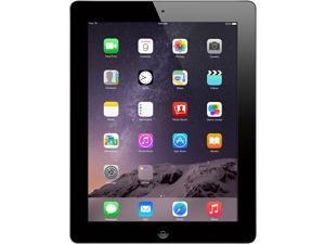 "Apple iPad 4 with 9.7"" Retina Display (2048x1536 264 ppi) - 16GB - Wi-Fi - Bluetooth - iOS 10 - Black - A1458 MD510LL/A 4th Generation - Genuine Apple Charger Included - Grade B"