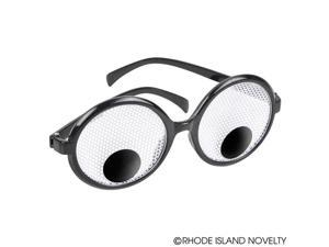 GOOGLY EYE NOVELTY GLASSES