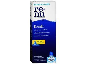 Bausch + Lomb Renu Fresh Multi-Purpose Solution - 12 oz