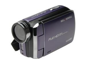 Bell & Howell DV30HD 1080p HD Video Camera Camcorder (Purple)