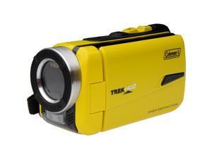 Coleman CVW20HD Waterproof HD Digital Video Camera Camcorder (Yellow)