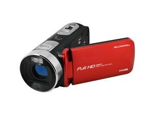 Bell & Howell Fun Flix DV50HD 1080p HD Video Camera Camcorder (Red)