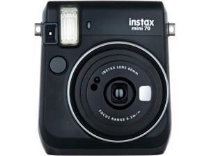 Fujifilm Instax Mini 70 Instant Film Camera (Midnight Black)