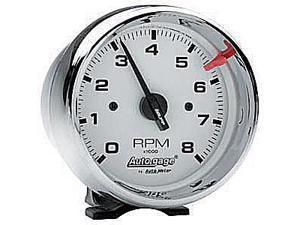 Auto Meter Autogage White Face Tachometer