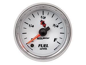 Auto Meter C2 Electric Programmable Fuel Level Gauge