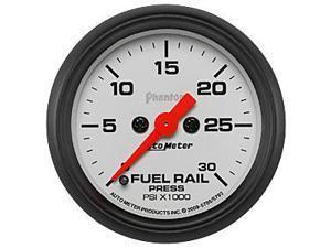 Auto Meter Phantom Fuel Rail Pressure Gauge