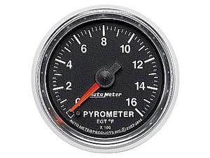 Auto Meter GS Electric Pyrometer Gauge Kit