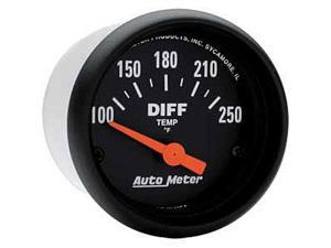 Auto Meter Z-Series Electric Differential Temperature Gauge