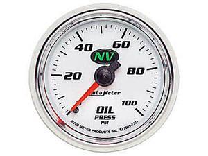Auto Meter NV Mechanical Oil Pressure Gauge