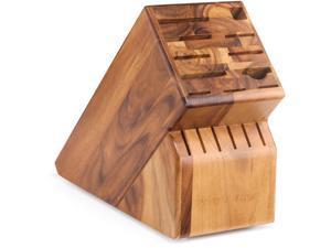 Wusthof 17 Slot Knife Storage Blocks - Acacia