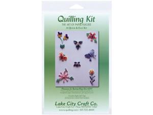 Quilling Kit-Flowers & Butterflies