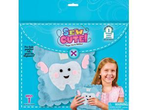 "Learn To Sew Tooth Fairy Pillow Kit-10""X10"""