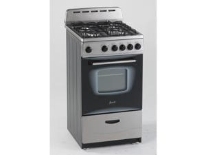 "Avanti 20"" Stainless Steel Gas Range"