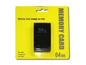 PS2 64MB Memory Card - 64MB memory card for Sony PS2 - Hi-TEC ESSENTIALS