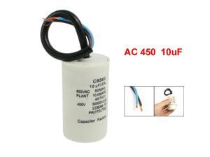Cylinder Shaped CBB60 10uF Motor Running Capacitor
