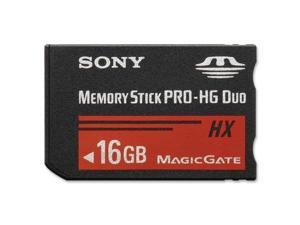 SONY 16GB Memory Stick PRO-HG Duo HX Flash Card Model MSHX16B