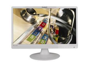 "PLANAR PLL2210MW White 22"" Class (21.5"" Diag.) 5ms Widescreen LED-Backlit LCD Monitor 250 cd/m2 1000:1 Built-in Speakers"