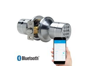 TurboLock TL-99 Bluetooth® Smart Lock for Keyless Entry & Live Monitoring – Send & Delete eKeys w/ App on Demand