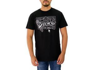 Jinx Men's 15th Anniversary Controller Graphic Black T-shirt