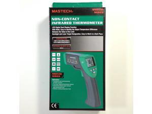 MASTECH MS6530 Non-contact Infrared Thermometer IR Temperature Tester with Laser Pointer