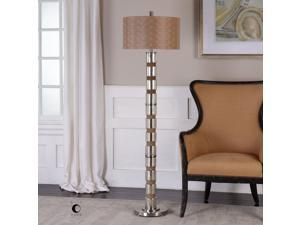 Uttermost Cerreto Mercury Glass Floor Lamp 28128